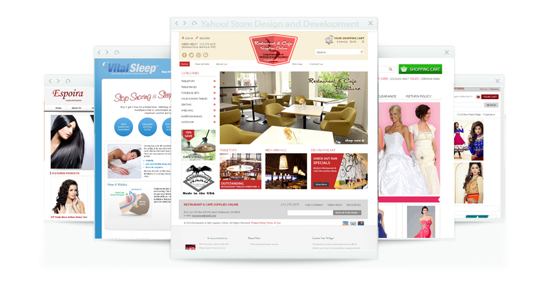 Yahoo! Store Design and Development